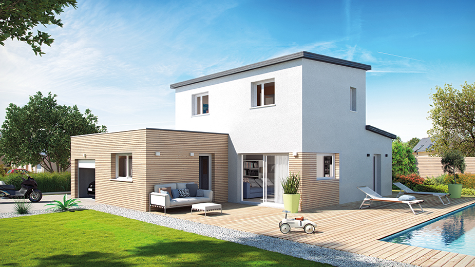 nouveaut 2017 catalogue maisons contemporaines top duo montelimar constructeur maison. Black Bedroom Furniture Sets. Home Design Ideas