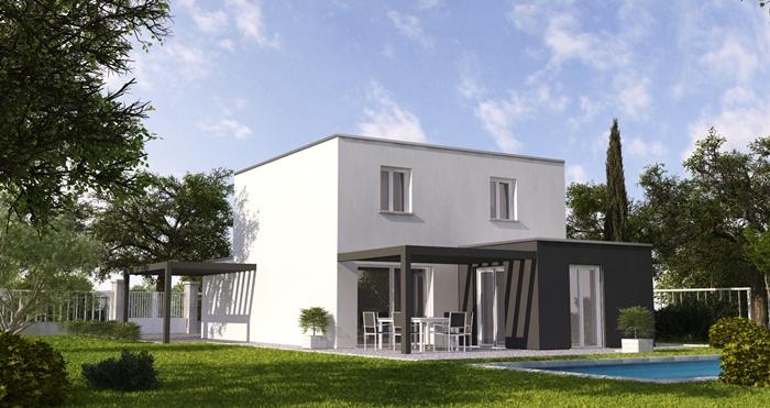 Maison moderne top duo dole constructeur maison for Top constructeur maison